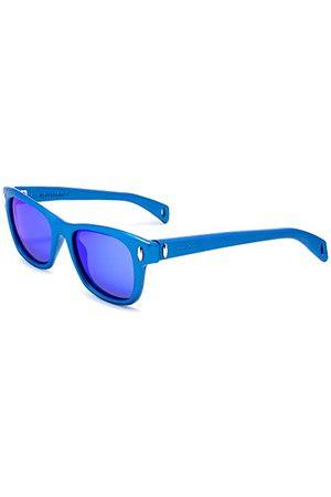 Italia Independent 0012-021-000 zonnebril, (azul), 53.0 unisex volwassenen