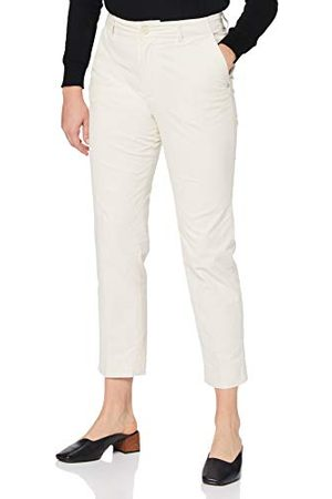 Scotch&Soda Dames Stretchbroeken - Dames 'Abott' Regular Fit Chino in Fine Stretch Cord Pants