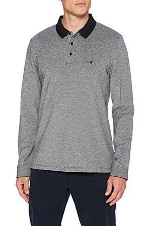 Wrangler Heren Ls Refined Polo Shirt