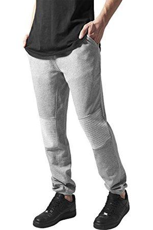 Urban classics Heren broek Deep Crotch Terry Biker Sweatpants