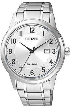 Citizen Heren Armbanden - AW1231-58B Analoog kwartshorloge voor heren, met roestvrijstalen armband