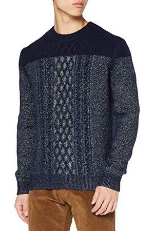 Pierre Cardin Heren Gebreide truien - Aran Structure gebreide trui voor heren.