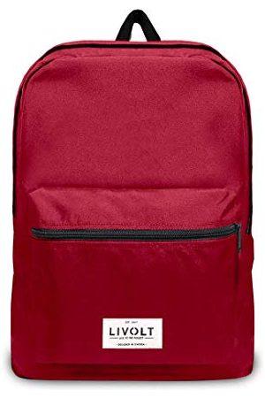 Livolt Rio Red Rugzak, Unisex, volwassenen, rood, 30 l