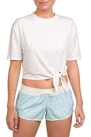 Hurley W Tie Front Active T-shirt voor dames