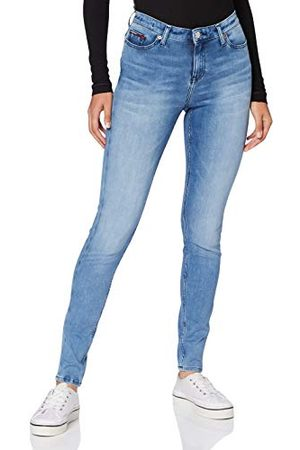 Tommy Hilfiger Nora Mr Skinny Dyamd Straight Jeans voor dames