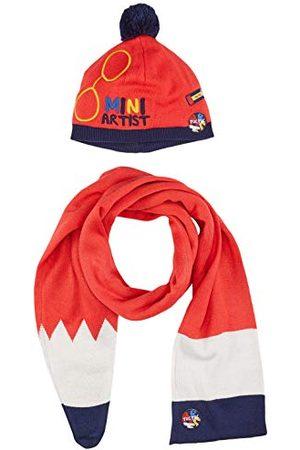Tuc Tuc Jongens Mutsen - Muts en sjaal Stricot School of Arts winteraccessoire voor kinderen