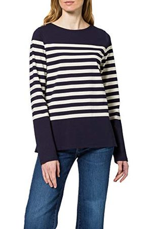 Scotch&Soda Classic Enginered Long Sleeve Tee T-shirt voor dames