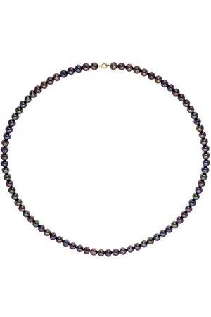 Pearls & Colors Halsketting 9 karaat (375) geelgoud Tahiti-gekweekte parel 42 cm