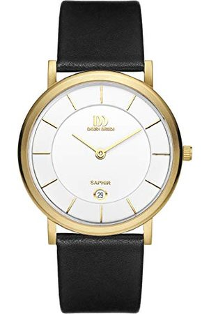 Danish Design IQ15Q898 Analoog kwartshorloge voor heren, met leren armband