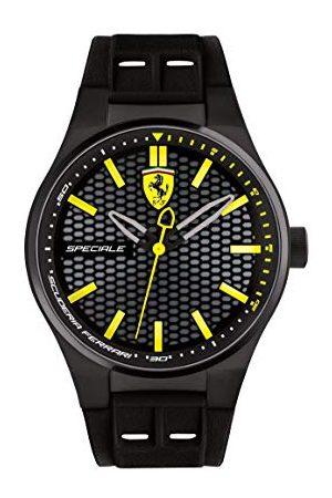 Scuderia Ferrari Heren Horloges - Herenhorloge, analoog, kwarts, armband gemaakt van siliconen - 0830354