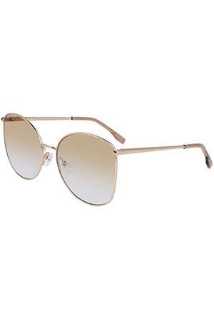 LACOSTE EYEWEAR Dames L224S-704 zonnebril, lichtbrons, 59/18/140
