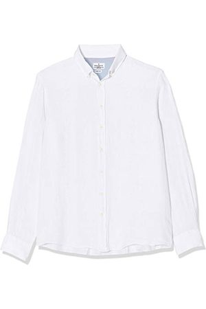 Hackett Heren Zakelijk - Garment Dye Ln Bs Hackett Zakelijk overhemd voor heren, Garment Dye Ln Bs