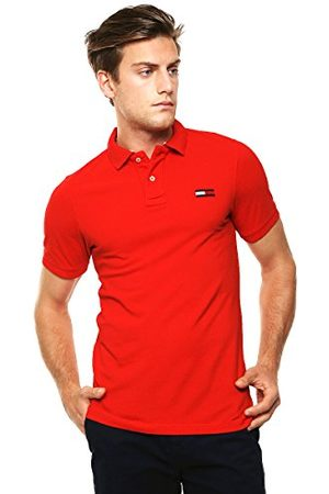 Tommy Hilfiger Heren Pilot grote vlag Polo S/S Shirt