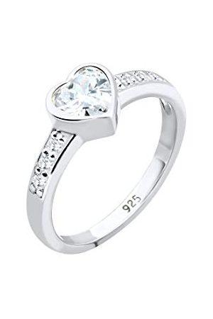 Elli Ringen 925 Glamoureuze Swarovski® Kristal