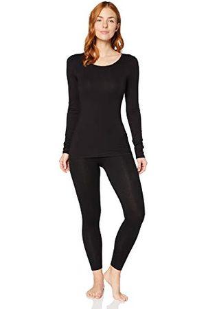 IRIS & LILLY Vrouwen extra warme longsleeve thermo-top, 2 stuks, ,XL