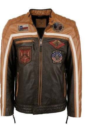 Top Gun Heren Bikerjacks - Tussenjas