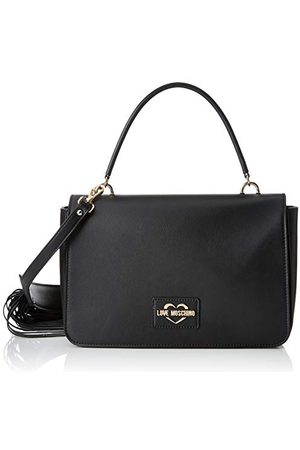 Moschino Love Dames Calf Pu Messenger Bag (Nero), 15x10x15 Centimeter (B x H x L)