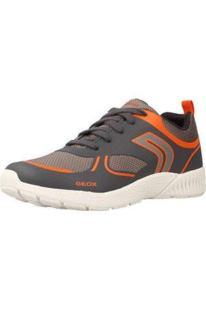 Geox J846PE01454, Lage Top Sneakers voor jongens 20.5 EU
