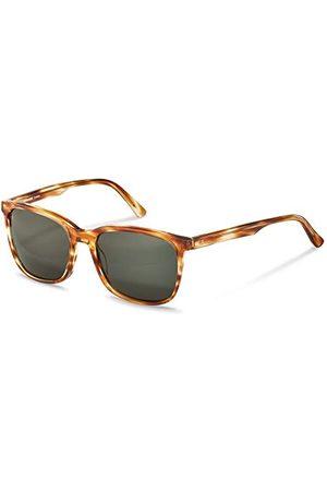 Rodenstock Style Icons Sun R3317 Zonnebril (Heren), lichtgewicht zonnebril, vierkante zonnebril met kunststof montuur