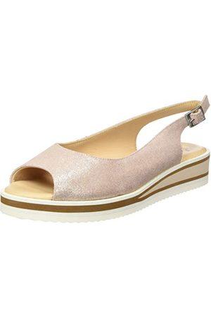 ARA 1214740, open sandalen met sleehak dames 38 EU Weit