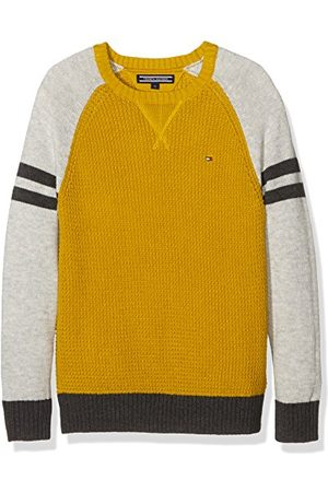 Tommy Hilfiger Jongens Structured Colorblock Cn Sweater L/S Pullover