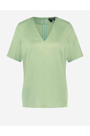 LaDress Dames Blouses - Kleding Blouses & tunieken Blouses Birgit Satijnen blouse