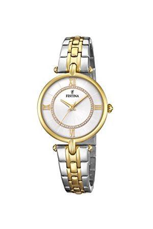 Festina Dames analoog quartz horloge met roestvrij stalen band F20316/1