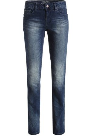 Esprit Dames Jeans 093EJ1B042 Skinny/Slim Fit (rouw) normale tailleband