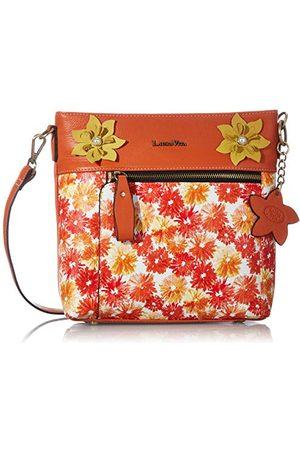 LAURA VITA 4234, Sling tas, bloemen dames Medium