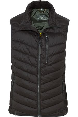 Camel Active Antracite bodywarmer padded