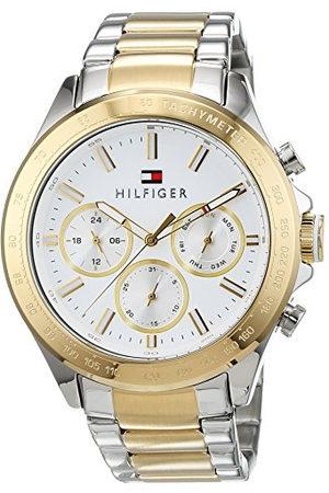Tommy Hilfiger Heren multiwijzerplaat kwarts horloge met roestvrij stalen armband 1791226