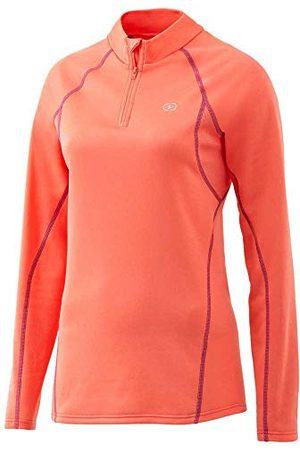 Damart T-shirt met ritssluiting Easy Body 4 Thermolactyl dames - oranje - Small
