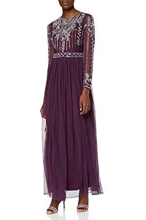 Amelia Rose Dames verfraaid lijfje Maxi jurk Cocktail