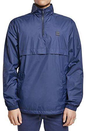Urban classics Herenjas Windbreaker Pull Over Jacket Stand Up Collar