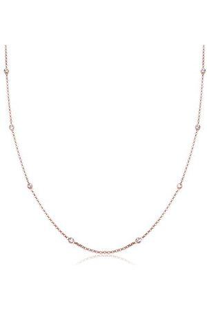 Elli Halsketting Solitär Basic Kristalle 925 Silber