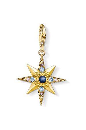 Thomas Sabo Bedelhanger voor dames Royalty ster Charm Club 925 sterling verguld 1714-959-7