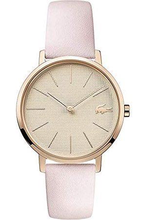 Lacoste Vrouwen Analoog Quartz Horloge met Lederen Band 2001113