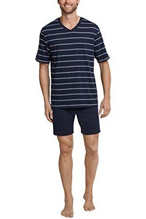Schiesser Heren korte V-hals tweedelige pyjama