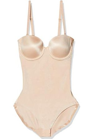 Spanx Dames SYF STRAPLESS CUPPED PANTY BODYSUIT Vormender Bodydy, (Champagne 000), 32 (Fabrikant Maat: XS)
