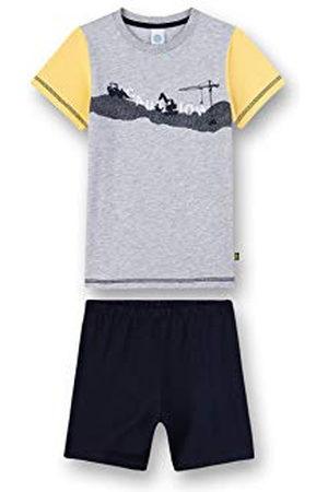 Sanetta Korte tweedelige pyjama voor jongens.
