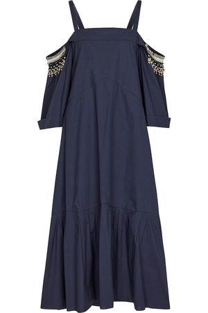 Dorothee Schumacher Poplin Fantasy cotton dress