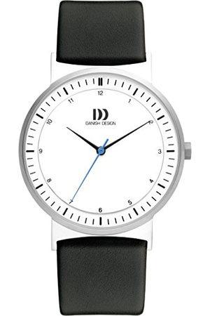 Danish Design IQ12Q1189 analoog kwartshorloge met leren armband voor heren