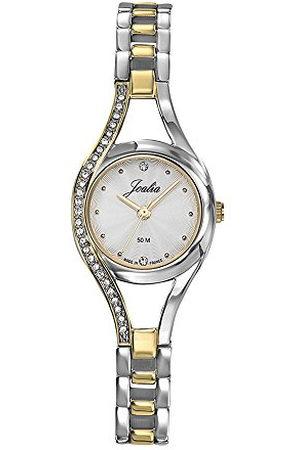 Joalia 634063 dameshorloge, analoog, kwarts, met armband