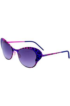 Italia Independent Dames 0216-ZEB-013 zonnebril, meerkleurig (bicolor), 50.0