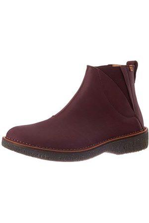 El Naturalista N5570 Soft Grain Rioja/Volcano, korte laarzen voor dames