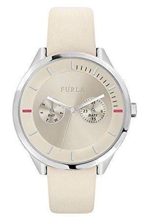 Furla Analoog kwartshorloge voor dames met leren armband R4251102547