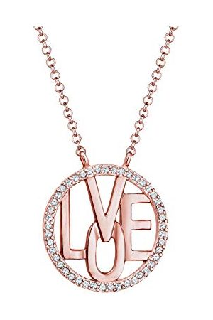 Elli Premium damesketting met hanger 925_sterling_zilver kristal 0111312217_45-45 cm lengte