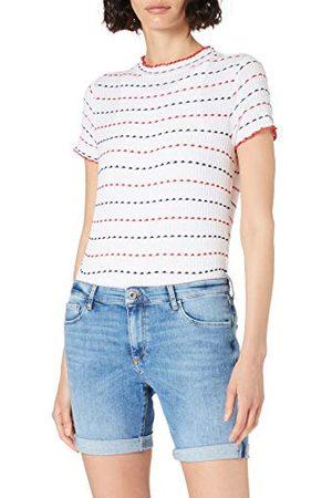 Cross Genna jeansshorts voor dames.