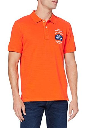 TOM TAILOR Heren patches poloshirt