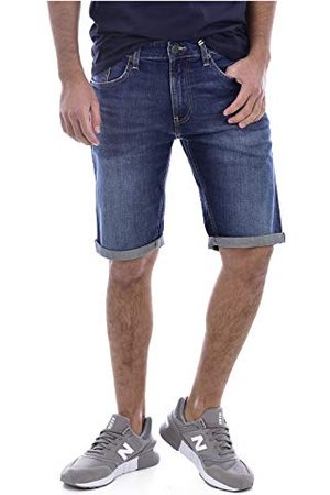 Tommy Hilfiger Ronnie Relaxed Short Dvdk Straight Jeans voor heren